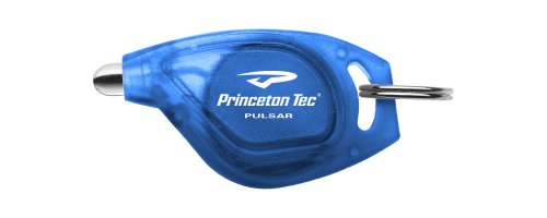 Princeton Tec Pulsar Keyring Light Blue with White LED