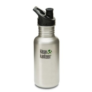 Klean Kanteen Classic Stainless Steel Bottle with Sports Cap