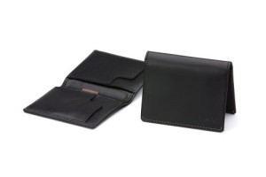 Bellroy Men's Leather Slim Sleeve Wallet Black