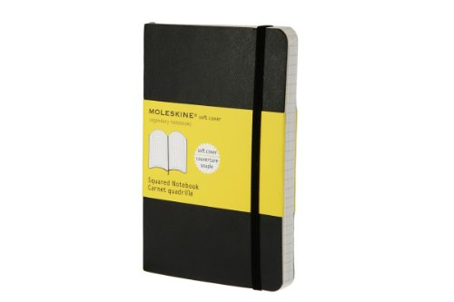 MOLESKINE SOFT COVER POCKET SQUARED NOTEBOOK