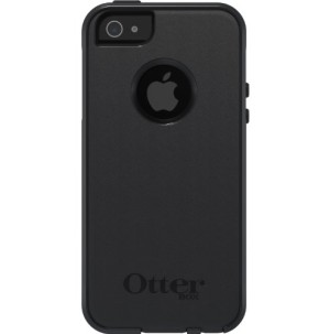 OtterBox Commuter Series Two-Layer Protection Case Cover with Screen Protector for iPhone 5/5S - Black