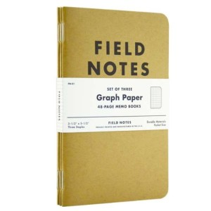 Field Notes Memo Book - Graph (Pack of 3)