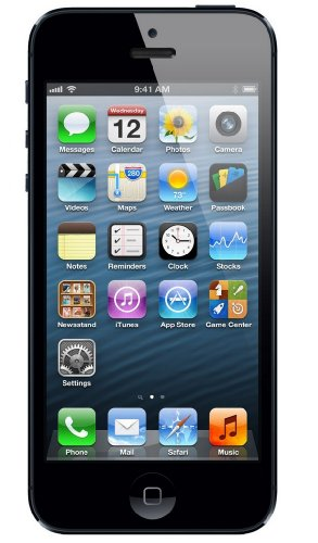 Apple iPhone 5 - 16GB Black - Sim Free Smartphone