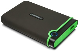 Transcend 1TB 2.5 inch USB 3.0 Military-Grade Shock Resistance Portable External Hard Drive