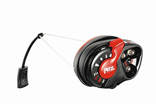 Petzl E+Lite headlamp mit Zip Roller red/black headlamp