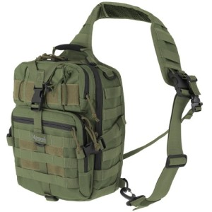 Maxpedition Hiking Backpack Malaga Gearslinger 10.8 Liters Green MAXP-423-G