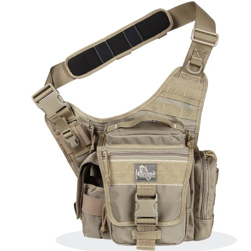 Maxpedition Messenger Bag Jumbo L.e.o. S-type Khaki Brown MAXP-9852-K