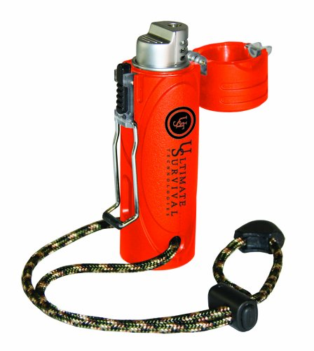 Ust - Windmill Trekker Stormproof Lighter, Blaze Orange