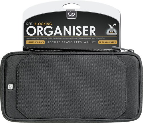 GO TRAVEL - Travel Document Organiser RFID Secure - Go674
