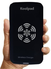 Koolpad Qi Wireless Charger Pad for All Qi Compatible Devices Including Nexus 5, Samsung Galaxy S5 SV and other Phones with Receivers & iPhone with iQi Mobile (Black)