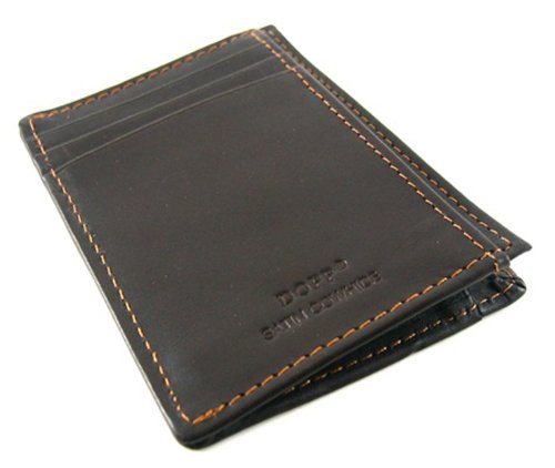 Dopp Regatta Collection Brown Front Pocket Getaway Wallet