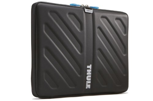 "Thule Mobile Crossover TAS113 Protective Transportation Case for 13"" MacBook and MacBook Pro Laptops Semi-Rigid EVA Black"