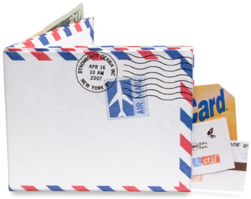 Mighty Wallet® - The Original Tyvek Wallet® - Airmail / Par Avion border design