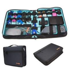 ButterFox Universal Electronics Accessories Travel Organiser / Hard Drive Case / Cable organiser - Large