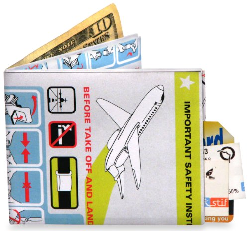 Dynomighty Wallet - In Flight Design - Tyvek Mighty super strong Wallet