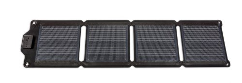 EnerPlex Kickr IV Rugged Portable Solar Charger - Black (6W, Direct USB Charge)
