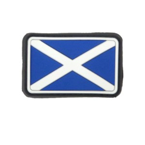 SCOTLAND PATCH RUBBER MORAL PATCH AIRSOFT PATCH