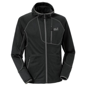 Jack Wolfskin Men's Rock Bar Fleece Jacket - Black, XX-Large