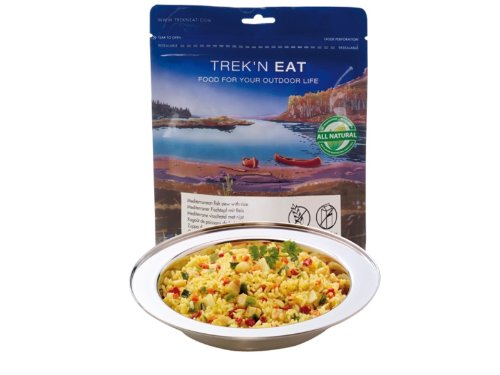 TREK'N EAT MEDITERRANEAN FISH STEW WITH RICE