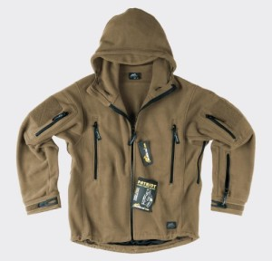 Helikon Tactical Patriot Hooded Fleece Army Polar Coyote