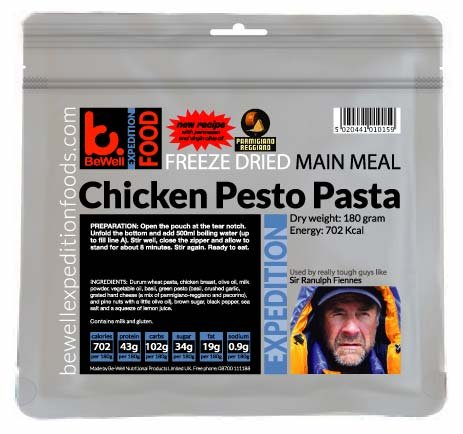 NEW Chicken and Pesto Pasta 180g Expedition Serving