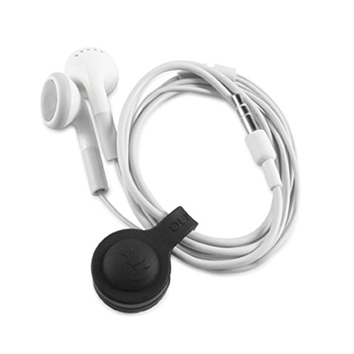 Proporta Headphone Earphone Earbud Earpod Cable Tidy - Pack of 3 for iPhone 4 4S 5 5S 5C iPad 2 3 4 mini Air Kindle HTC Samsung Galaxy S3 S4 Note iPod classic touch shuffle nano Beats Sennheiser Wire Organiser