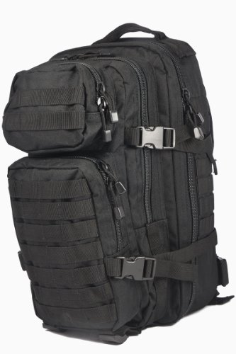 MOLLE US Assault Pack Military Patrol Ruckasck 20L Black