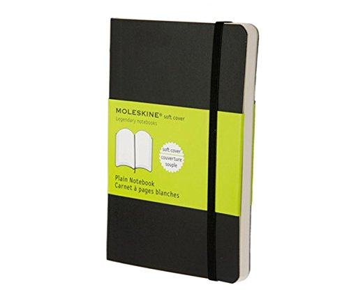 Moleskine Plain Large Soft Cover Classic Notebooks Writing Black Journal Moleskin 13x21cm