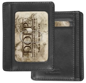 DOPP Getaway Front Pocket Wallet by Buxton (Black)