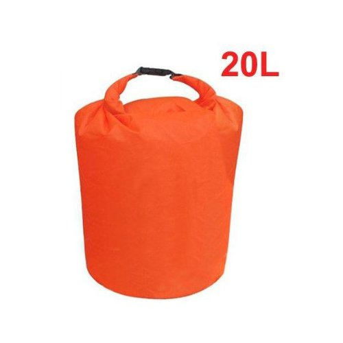 20L Water Resistant Waterproof Dry Bag Canoe Floating Boating Kayaking Camping Random Color