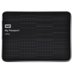 WD My Passport Ultra 2TB USB 3.0 Portable Drive with Auto and Cloud Backup - Black