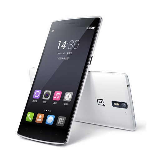 Oneplus One 4G LTE Mobile Phone 5.5'' FHD Screen Snapdragon 801 Quad Core 3GB RAM 64GB ROM Android 4.4 NFC Wifi Bluetooth Cyanogenmod CM11S (White)