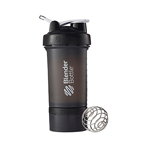 Blender Bottle Pro Stak Shaker Cup - Black, 22 oz