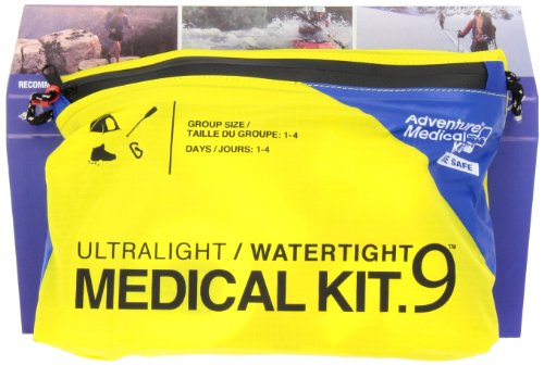 Adventure Medical Kits Ultralight Watertight 9 First Aid Kit - Yellow